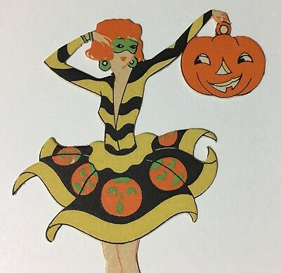 Vintage Halloween Place Card by Gibson - Beautiful Piece