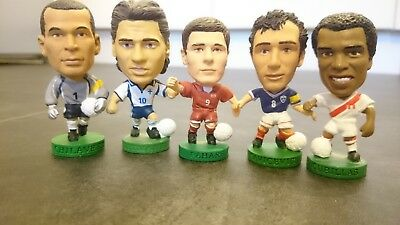 Corinthian Prostars - 5 International Football Figures (Chilavert-Savicevic)