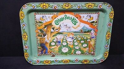 Vintage 1983 Original Appalachian Art Works CPK Cabbage Patch Kids TV Tray Used