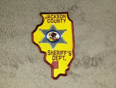 Jackson County Illinois Sheriff Shoulder Patch