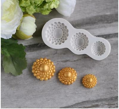 Cake Mold Silicone Decorating Non-Stick Sugar-crafts Baking & Pastry Tools 1pcs