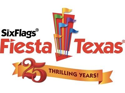 SIX FLAGS FIESTA TEXAS $36.99 Discount Promo Savings Tool ~ FAST DELIVERY