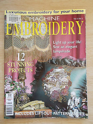 Machine Embroidery Vol 5 #2~Lampshade~Quilt~Cushions~Tissue Box Covers~Table...
