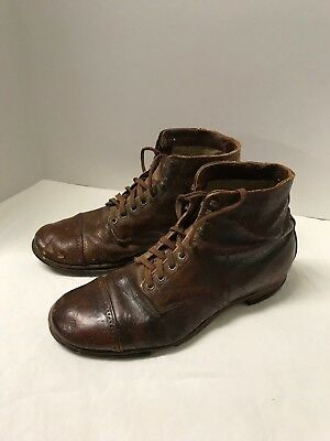 WWI US Army Marine Corps M1904 Shoes russet