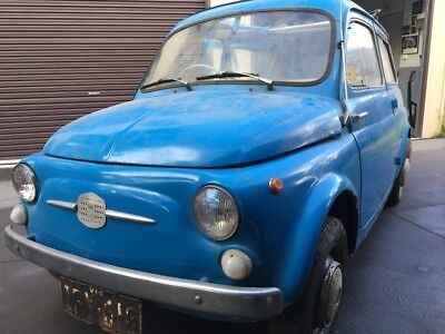 Fiat 500 Giardiniera 1961 Wagon Vintage Bambino Restoration project or parts