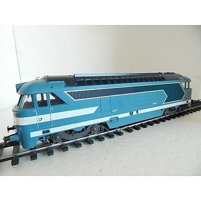 -  Lima Echel O Locomotive Diesel  Bb 67001 Long 38 Cm