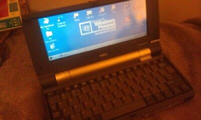 """NEC MobilePro 900 8.1"""" Handheld PC MP900 400MHz 64MB RAM with Power Adapter"""