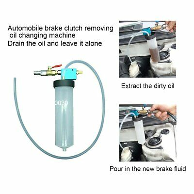 Auto Car Brake Fluid Oil Change Replacement Bleeder Empty Exchange Drained KitPY