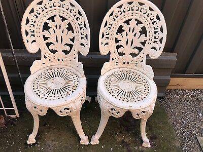 Cast Iron Garden Chairs