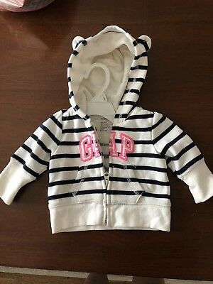 Baby Gap Girl Jacket 0-3 Months Striped