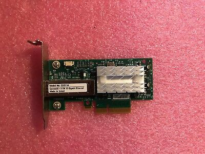 Mellanox ConnectX-3 PCIe x4 NIC 10 Gigabit 10GBe SFP+ Single Port Server Adapter