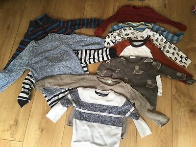boys 12-18 months Huge Winter bundle Next River Island, Jojomamabebe 12 Items