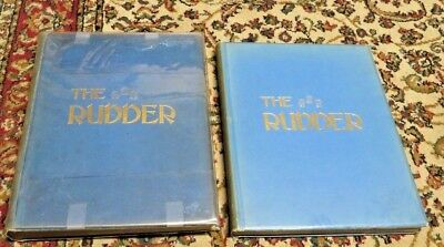 2 VOL-The Rudder-Bound Magazine-Yachts/Yachting-Vols.21+22-January/December 1909