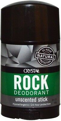 Stick Natural Body Deodorant for Men & Women, Crystal, 3.5 oz