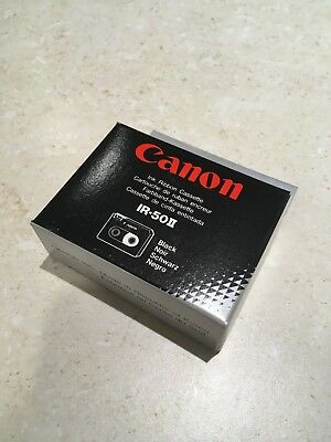 Canon Model IR50 II Black Ink Ribbon Cassette 2 Pack