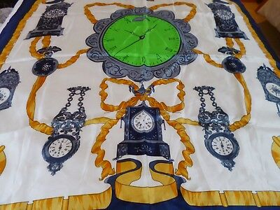 Vintage Scarf Clocks Antique Grandfather Clock Used Vgc