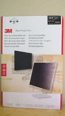 "3M Pf22.0W Black Privacy Filter 22"" Widescreen Filter"