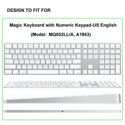 ProElife Ultra Thin Silicone Keyboard Protector Cover Skin iMac Magic for Apple