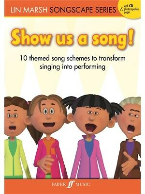 Lin Marsh Show Us A Song Learn to Play Unison Voice Piano SHEET MUSIC BOOK & CD