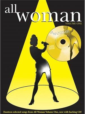 All Woman Collection Volume 1 Learn to Play Mixed Songbook SHEET MUSIC BOOK