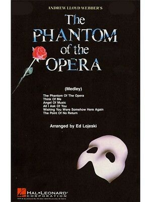 The Phantom of the Opera Medley Sing Vocal Voice Birthday Present Choral CD