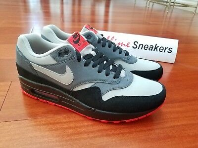 DS BRAND NEW Nike AIR MAX 1 LTR Leather Grey Granite 654466 004 ...