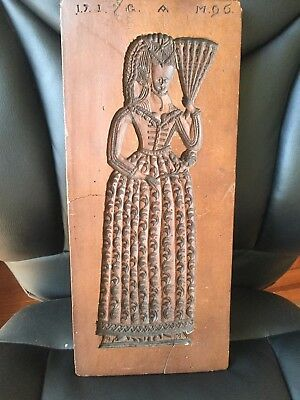 1790 Austrian Carved Gingerbread Mold Reproduction from Smithsonian Collection