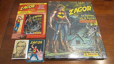 "Album ""zagor Lo Spirito Con La Scure"" Versione Cartonata+Set Completo+Folder"