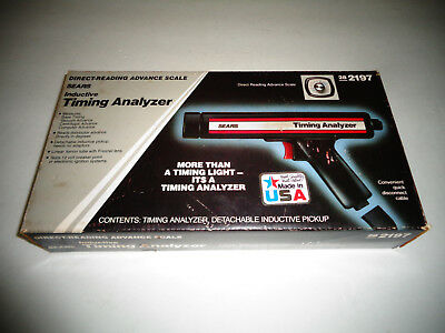 Sears inductive Timing Analyzer 28 2197
