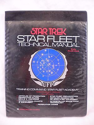 Star Trek Star Fleet Technical Manual 1st Edition 1st Printing 1975 Illustrated