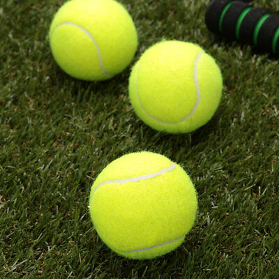 1126 Tennis Ball Durable Elasticity Round Training Learning Sports Exercise