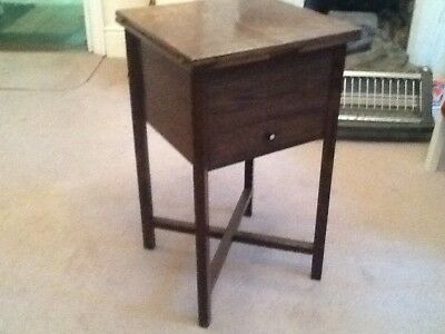 Antique Sewing box Table