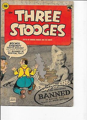 The Three Stooges  #6   Kubert art