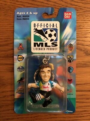 Corinthian Like Bandai 1996 Mls Figure In Blister - Eric Wynalda San Jose Clash