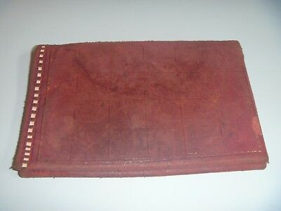 Vintage Soft Leather Wallet Containing A Small Vintage Photograph
