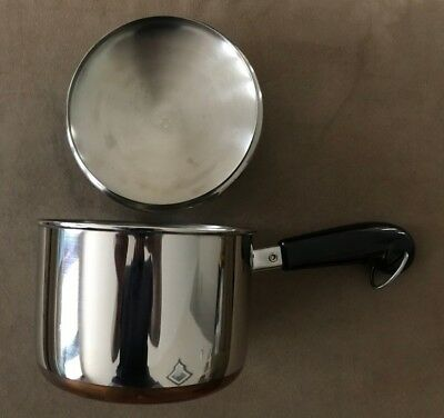 NOS Revere Ware 1801 1-1/2 Qt Sauce Pan with Lid - Clinton ILL