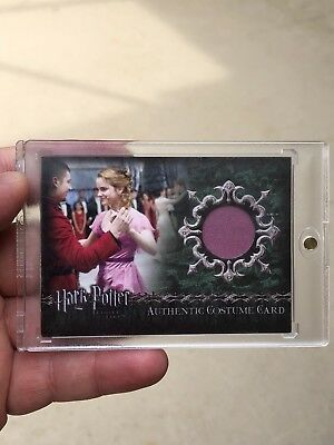 Harry Potter Goblet of Fire Update Emma Watson Yule Ball Costume Card C7