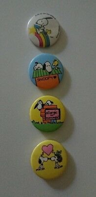 Snoopy Peanuts Button 80er Jahre