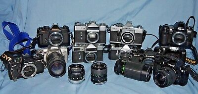 #a9  Joblot Of Cameras And Lenses