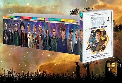 Select Bbc Doctor Who The Complete History Issues 41 - 75 Hachette Hardcover New