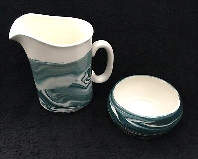 Hebridean Pottery Fear An Eich Isle Of Lewis Jug And Bowl