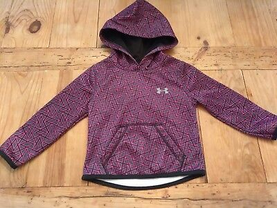 Toddler Girl Under Armour Pullover Hoodie Geometric Print 2T
