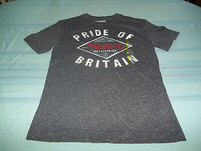 Norton Motorcycles Pride of Britain T-Shirt Size S