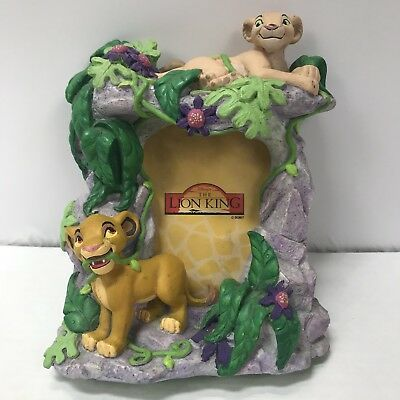 Rare Disney's The Lion King Picture Frame Young Simba Nala Jungle Guc