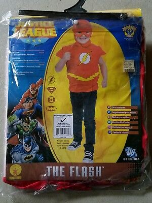 O NEW Child Rubies The Flash Halloween Costume Size M