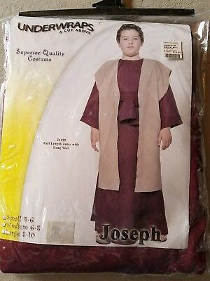 O NEW Child Underwraps Joseph Halloween Costume Size L