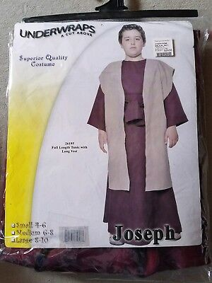 O NEW Child Underwraps Joseph Halloween Costume Size S