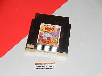 Nintendo NES, The FANTASTIC ADVENTURES of Dizzy (100% Authentic) Used Retro Game