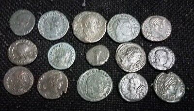 Lot of 15 Good quality Ancient Roman coins