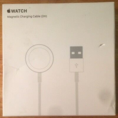 Genuine Apple Watch Magnetic Charging Cable 2M MJVX2AM/A New